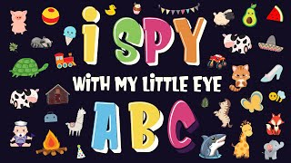 I Spy ABC | Fun Alphabet Search and Find Activity Game for Kids (2-4 Year Old)!