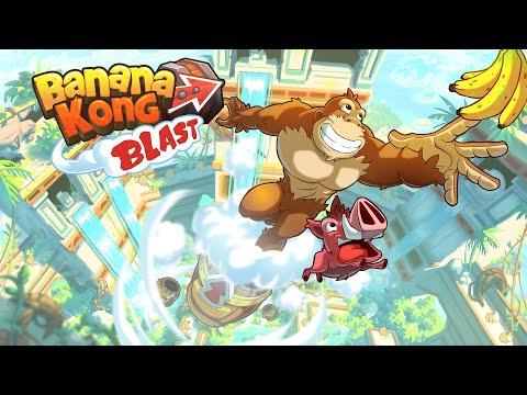 Banana Kong Blast Video