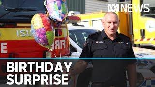 Firefighters Surprise Kids On Their Birthdays To Spark Joy During Coronavirus Pandemic | ABC News