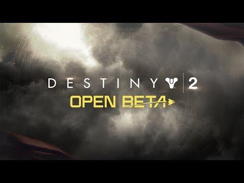 Destiny 2 - tráiler de lanzamiento oficial de la beta abierta