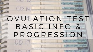 Ovulation Tests // Basic Info + Read Progression