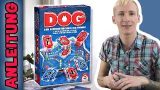 Dog - Den Letzten beißen die Hunde | Spielanleitung (Schmidt) Deutsch | thajo torpedo