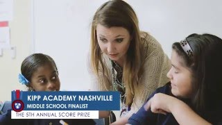 A Look at KIPP Nashville, A 2015 SCORE Prize Finalist