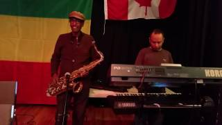 Ethiopian music Ambassel Tizita with Saxophonist Mr Yohannes Wolde Giorgis and Yoseph Tamrat