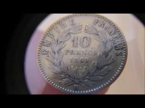 Jmbullion Unboxing: Old 10 Francs Gold Coin!