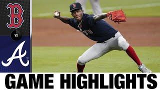 Vázquez's grand slam backs Tanner Houck in 8-2 win | Red Sox-Braves Game Highlights 9/26/20
