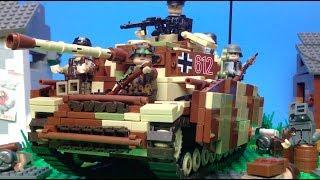 1942 Lego World War 2 - Second Battle of Kharkov    Lego Stop Motion Animation