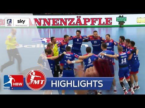 HBW Balingen-Weilstetten - MT Melsungen | Highlights - LIQUI MOLY Handball-Bundesliga 2019/20