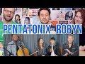 PENTATONIX - Robyn - Dancing on My Own - (Plus Avi leaving announcement) REACTION!!