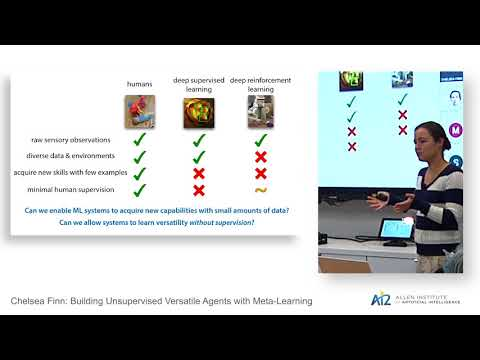 Building Unsupervised Versatile Agents with Meta-Learning Thumbnail