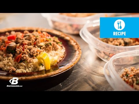 Video SBTZ (Strong, Bold, Tasty, Zesty) Turkey Skillet Recipe | Everyday Beast
