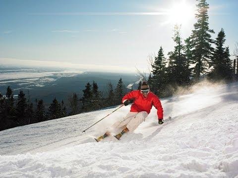Région de Québec en hiver - De la neige en abondance!