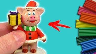 Новогодняя свинка