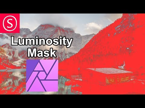 Luminosity Mask in Affinity Photo // Tutorial