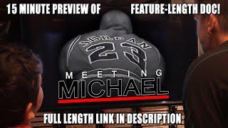 NEVER BEFORE SEEN JORDAN FOOTAGE FROM '95 - Meeting Michael Jordan (1995)