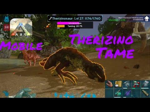 DOWNLOAD: Therizinosaurus Taming! | Ark: Survival Evolved