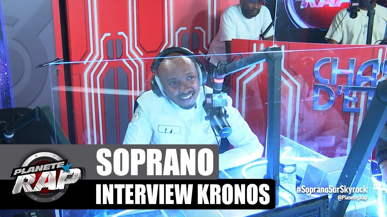 Soprano - Interview Kronos : Snoop Dogg, son inspiration, la scène... #PlanèteRap