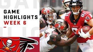 Buccaneers vs. Falcons Week 6 Highlights | NFL 2018