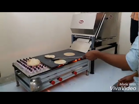 Semi Cook Chapati Making Machines