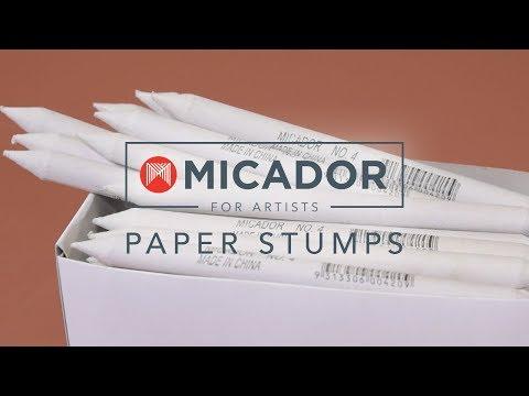 Micador Paper Stumps Size 4, Box 48
