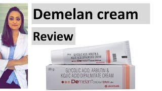 Demelan Cream Review | Contents | Uses And Precautions| Dermatologist | Dr. Aanchal Panth