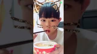 LINELIVEきつねうどんを食べる!食事食べる