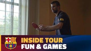 INSIDE TOUR   Hotel fun & Games