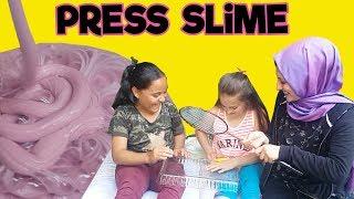 Takipçimiz Şeyma ile Limonlu Press Slime Yaptık | Bakın başımıza neler geldi :)) | Fenomen Tv