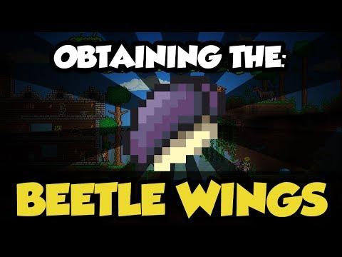 Terraria 1 2 3: Beetle Armor & Wings! (NEW Best Melee Armor
