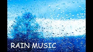 Rain Sound and Relaxing Harp Music - Soothing Sleep Music