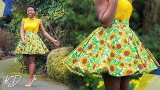 HOW TO: SEW BOX PLEATED CIRCLE SKIRT | KIM DAVE