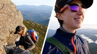 CLIMBING A GIANT ROCKSLIDE IN THE ADIRONDACK MOUNTAINS! (4K)
