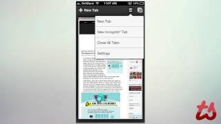 Google Сhrome iPhone App