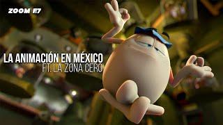 Cine,  industria de la animación en México y Youtube con Chucho calderón de La Zona Cero.