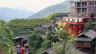 Video : China : A tour of the Li River 漓江 and the LongSheng rice terraces 龙胜梯田