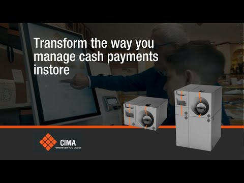 CIMA CASH@POS INLANE Touchless Cash Payment Solution