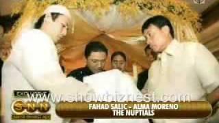 Alma Moreno and Fahad Salic Wedding Full Video