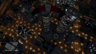 J'explose La Tour Du FBI (Grand Theft Auto V)