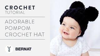 Crochet: Adorable Pompom Crochet Hat