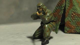 Метро 2033 в миниатюре. Первый поселенец. Снайпер красных.