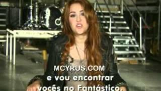 Promo Interview Fantástico - Avril 2011
