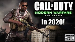 THROWBACK THURSDAY 😈 The Original MODERN WARFARE...Remastered | MWR in 2020