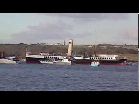 The Medway Queen arriving home. 19/11/2013