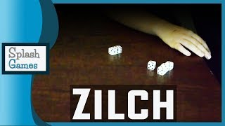 Dice Game: Zilch