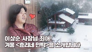 [비하인드] 이상순 사장님 최애☞ 겨울의 [효리네 민박]♥