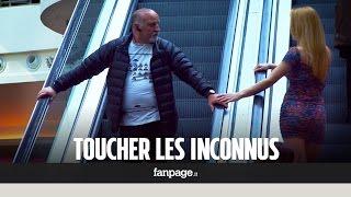 Qu'est-ce qui se passe si tu touches un inconnu sur les escaliers roulants?