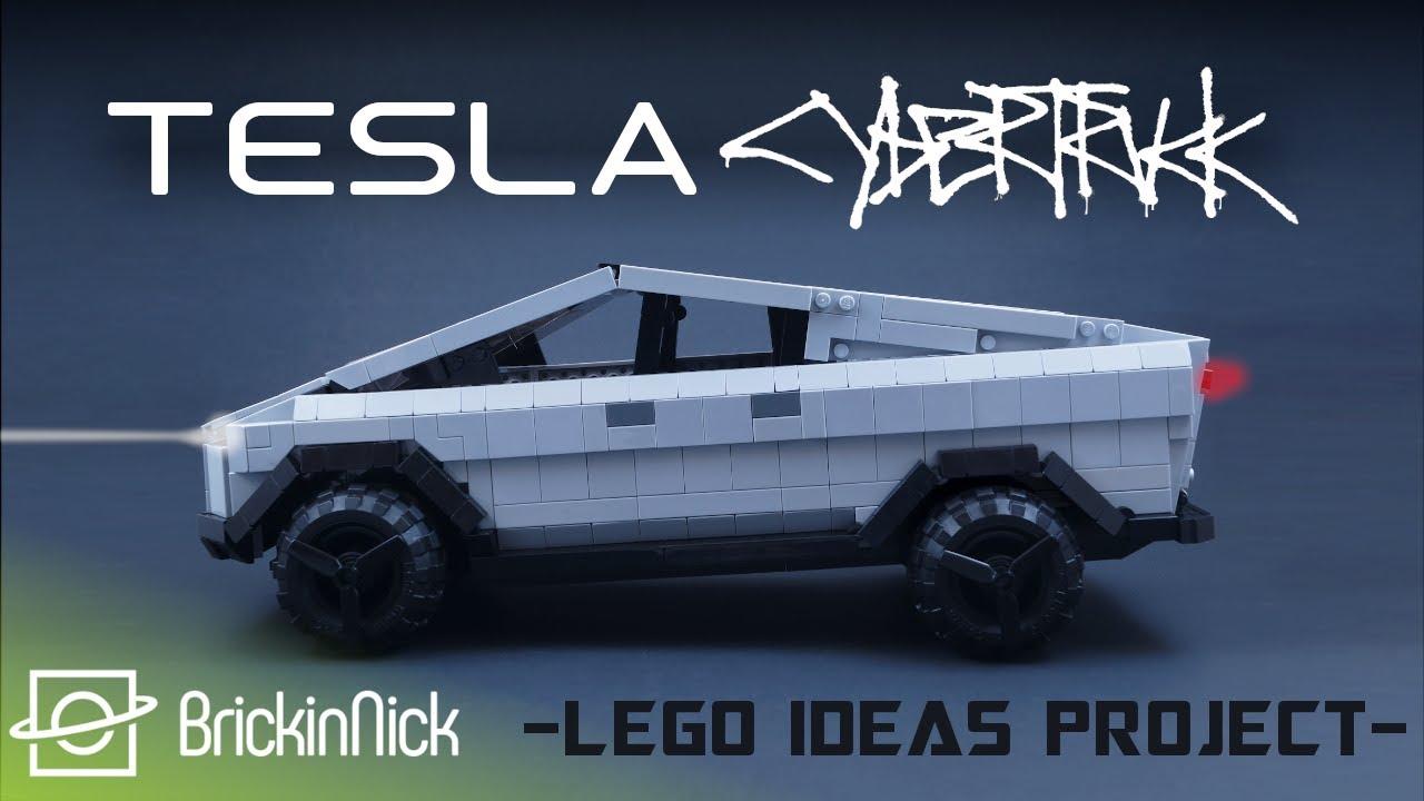 Tesla Cybertruck LEGO Ideas Project | MOC Timelapse