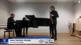 Tomasz ORLOWSKI plays Fantasie by F. Bedard #adolphesax