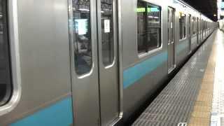 懐かしの京浜東北線209系「ブレーキ段解音+VVVF加速音」