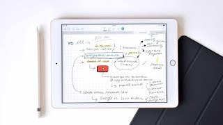 USING THE NEW IPAD 2018 FOR UNI/COLLEGE || organization and notes